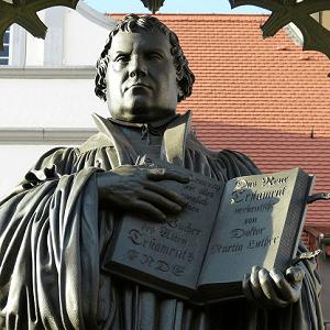 Martin Luther war ein Feind des Ablaßhandels.