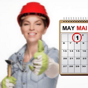 Der Tag der Arbeit st der große Kampftag für die Gewerkschaften.